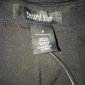 White House Black Market Skirts - White House Black Market Ponte Detail Pencil Skirt